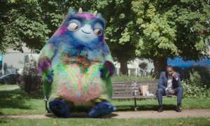 "The ""physical embodiment of the workplace pension"" just so happens to be a big, pointless and fake CGI creature. Did nobody think of the potential link between the two? Or did they just see a big cute thing?"